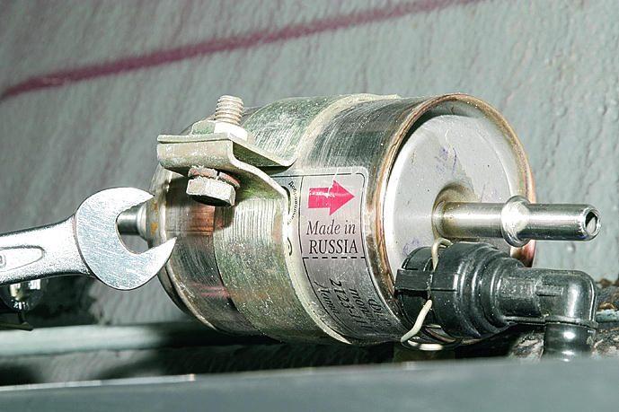 Фото №36 - замена топливного фильтра ВАЗ 2110