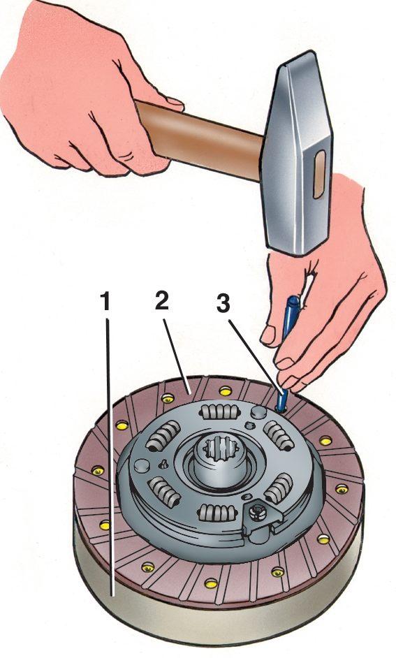 Как заменить диски сцепления на ваз 2115