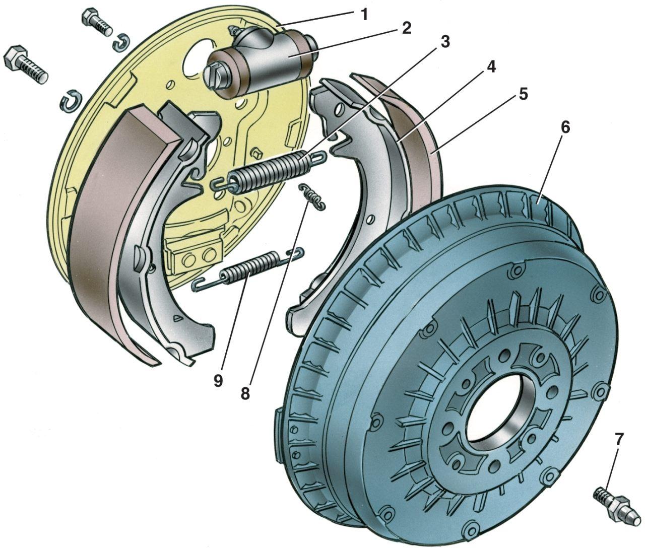 Схема тормозной системы 2115 фото 95