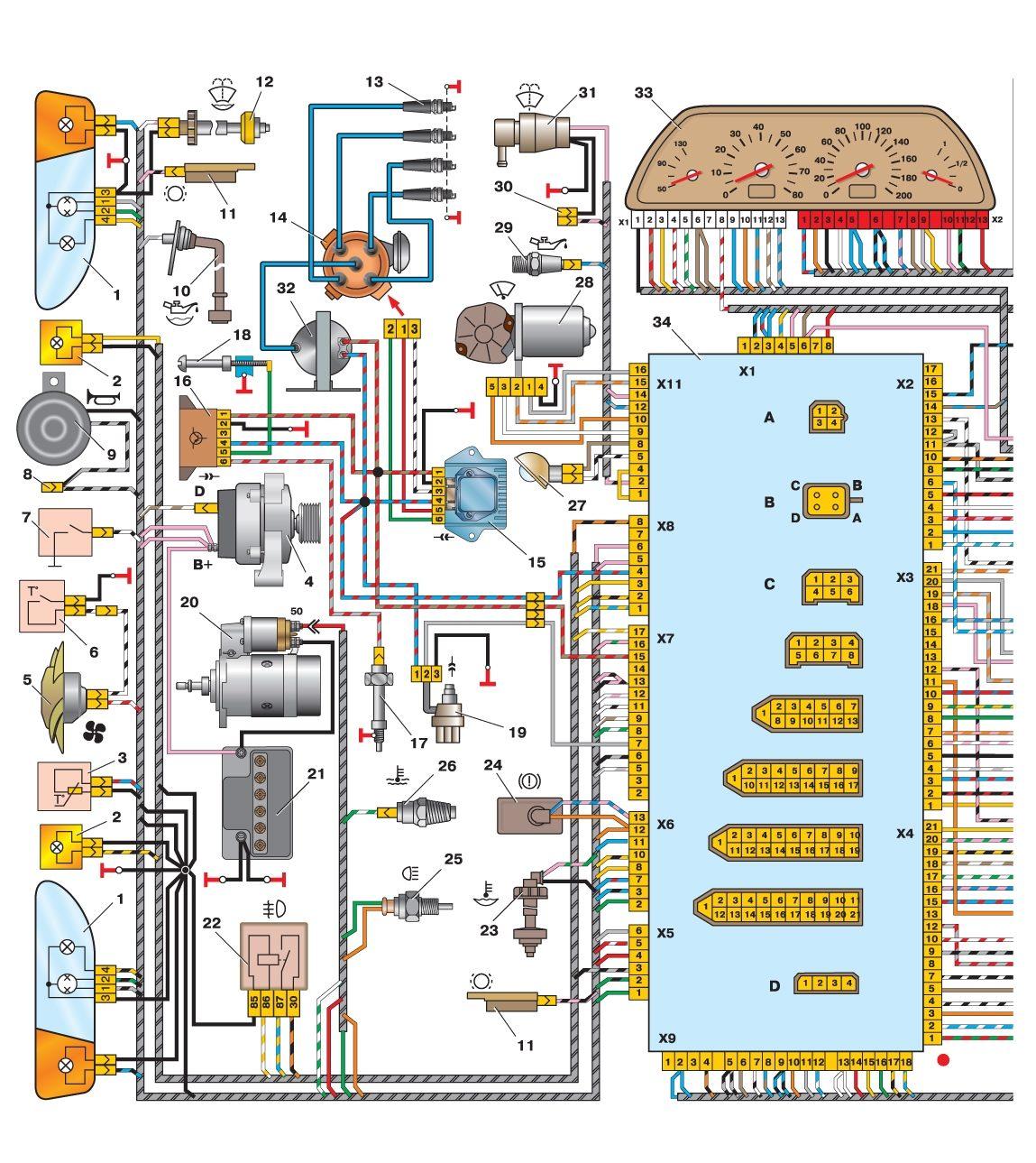 Схема подключения противотуманок ваз 2110 своими руками.