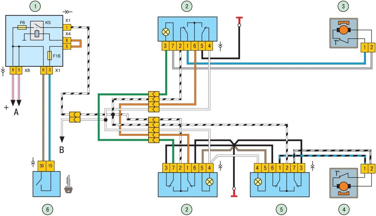 Калина датчик уровня топлива схема подключения6
