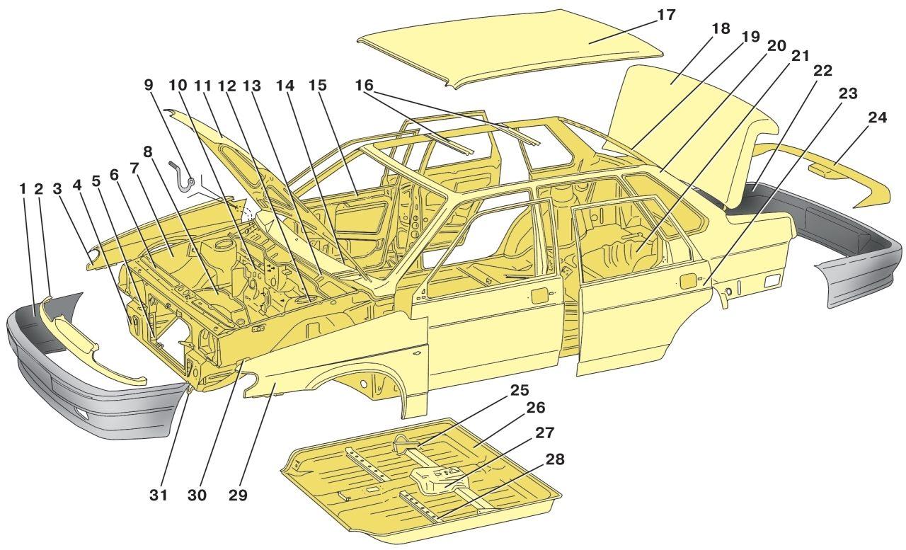 ВАЗ 2106 детали кузова купить