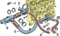 RA indiaman: схема разборки термостата двигателя 1,6 опель.