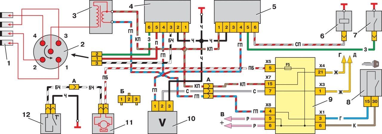 электрическая схема преобразователя катодной защиты пскм