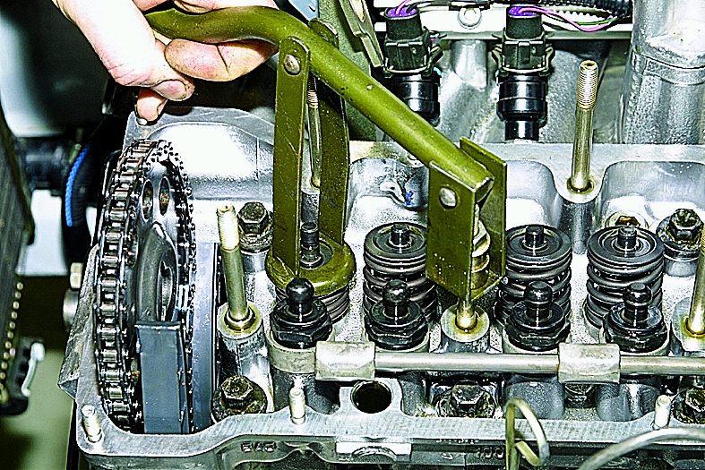 Фото №14 - признаки износа маслосъемных колпачков ВАЗ 2110