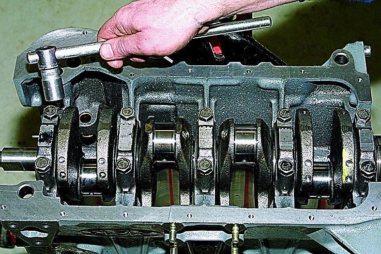 Сборка двигателя ваз 2109 своими руками видео