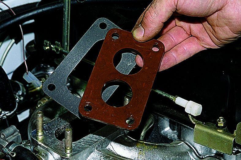Установка и снятие карбюратора с автомобиля Нива 2121, Ваз 2131, Лада 4х4.