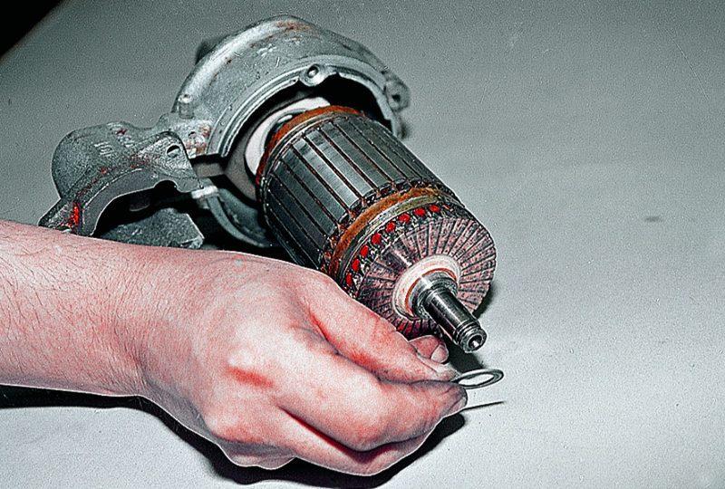 Ваз ремонт стартера своими руками