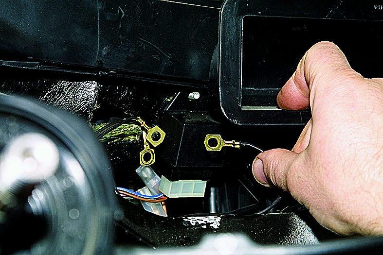 фретед: замена электромотора отопителя ваз-21214