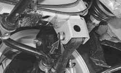 Замена растяжки передней подвески
