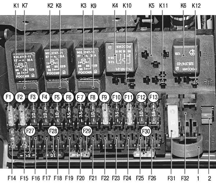 Ваз 21121 электрическая схема прикуриватель.  Схема электроного спидометра ваз-2110.