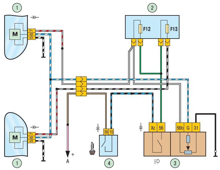 Электросхемы ВАЗ - Приора Приора : Приора.  Схема панели приборов LADA...
