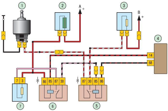 Структурная схема системы охлаждения toyota