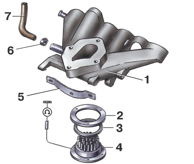 Регулировка карбюратора Pierburg/ Solex 2Е2 Volkswagen Golf II.