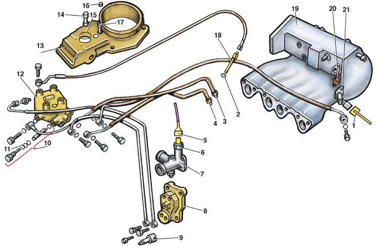 двигатель гольф 2 схема