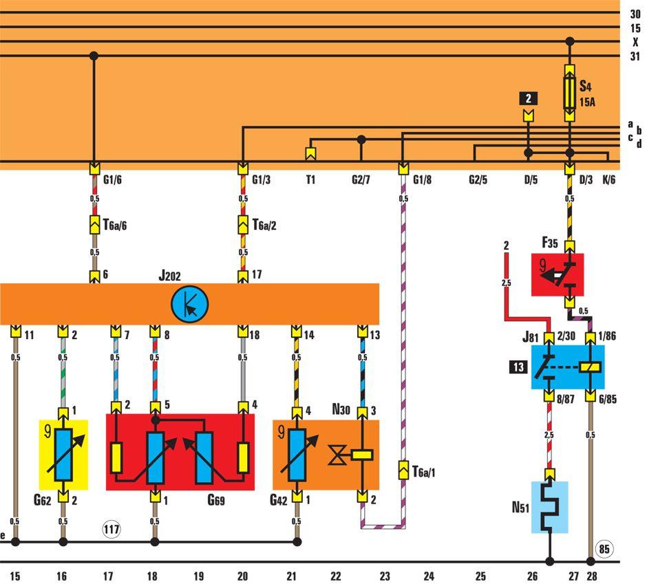 Рассмотрим схему, в которой для автоматизации подогрева использовано реле напряжения РН.  Обмотка реле подключена к...