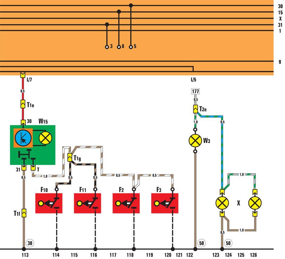 Управление током по шим схема