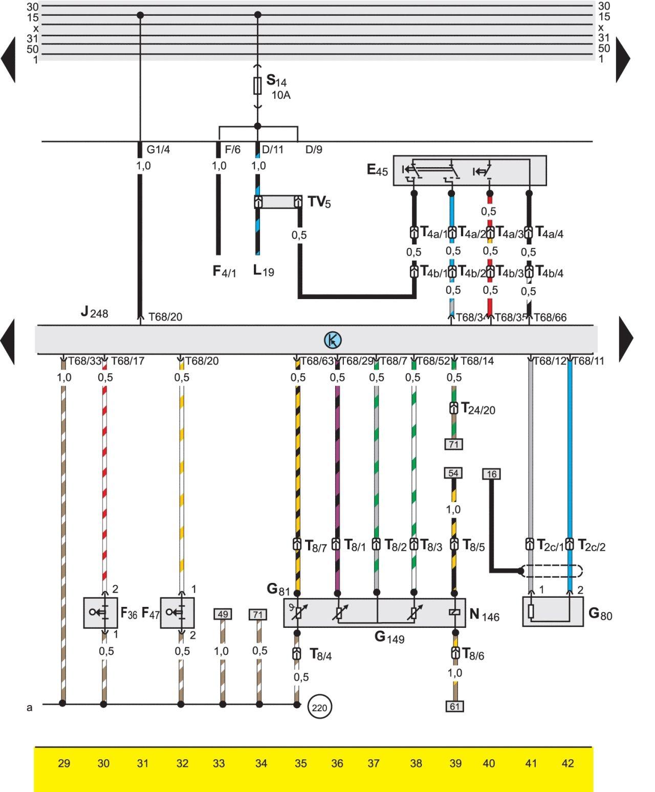 Система охлаждения пассат б3 схема фото 729