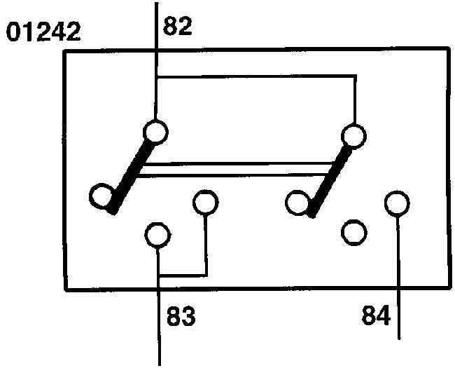 На электрической схеме все потребители и выключатели показаны в состоянии покоя.  Изменяющееся течение. тока после...